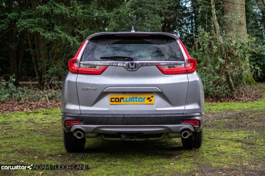 2019 Honda CR V Review Rear carwitter 1024x681 - 2019 Honda CR-V Hybrid Review - 2019 Honda CR-V Hybrid Review
