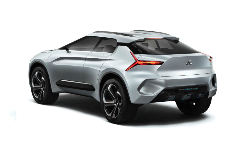 Mitsubishi e EVOLUTION Concept Rear carwitter 1024x627 - Mitsubishi's electric world is powering up - Mitsubishi's electric world is powering up