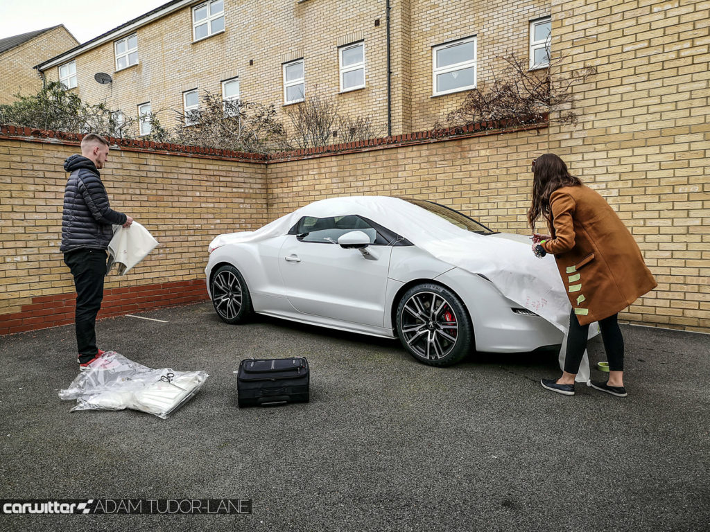 Specialised Covers Review Peugeot RCZ R Outdoor Cover 005 carwitter 1024x768 - Specialised Covers Review - The car cover of choice - Specialised Covers Review - The car cover of choice