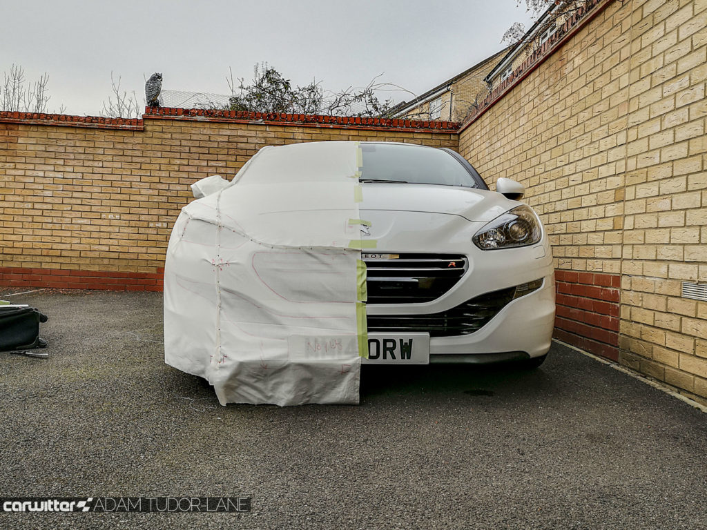 Specialised Covers Review Peugeot RCZ R Outdoor Cover 008 carwitter 1024x768 - Specialised Covers Review - The car cover of choice - Specialised Covers Review - The car cover of choice