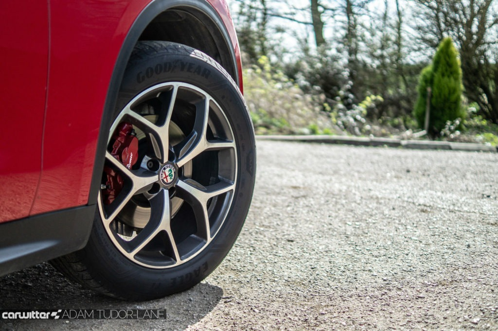 Alfa Romeo Stelvio Speciale Review Alloy Wheel carwitter 1024x681 - What are ABS and EBD and What is Their Purpose? - What are ABS and EBD and What is Their Purpose?