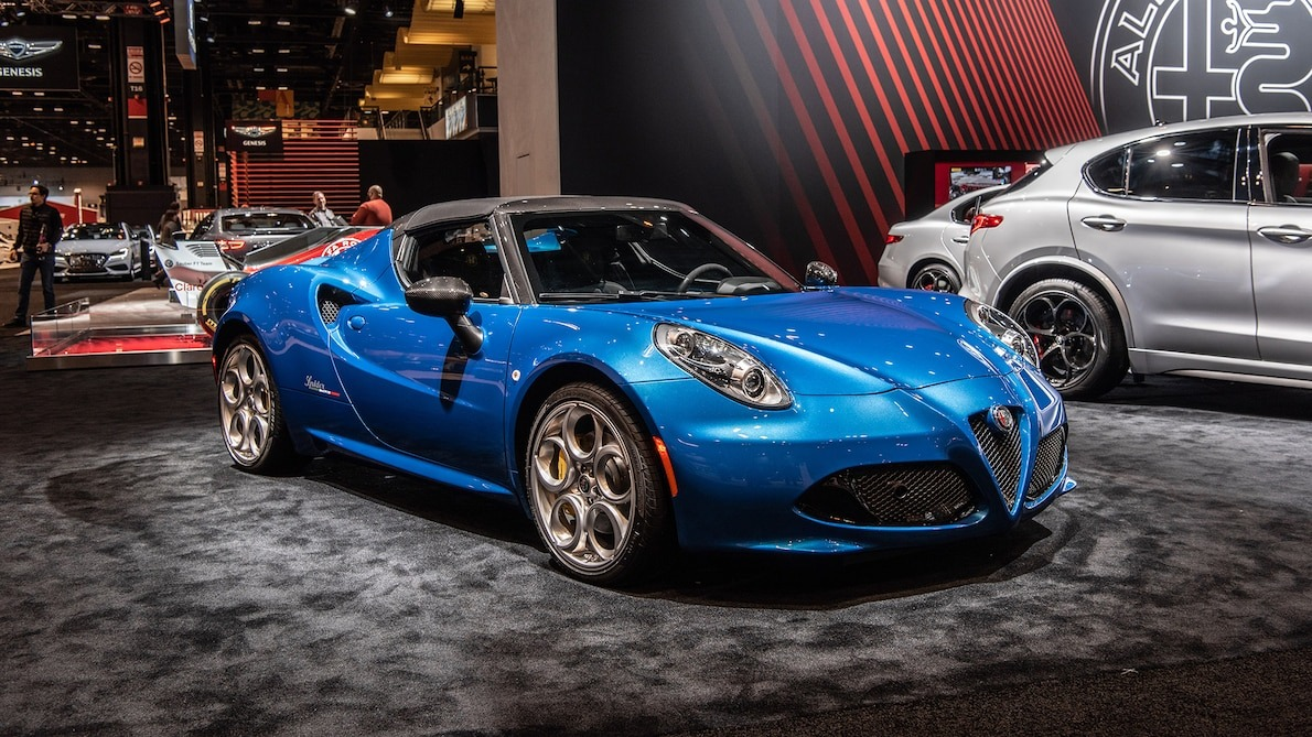 2020 Alfa Romeo 4C Spider Italia at Chicago Auto Show 11 - A closer look at the Alfa Romeo 4C Spider Italia - A closer look at the Alfa Romeo 4C Spider Italia