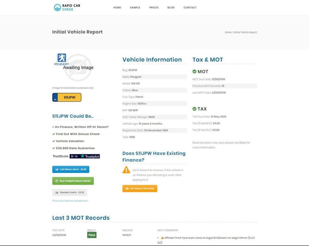 Rapid Car Check 02 1024x816 - Rapid Car Check Review - Rapid Car Check Review