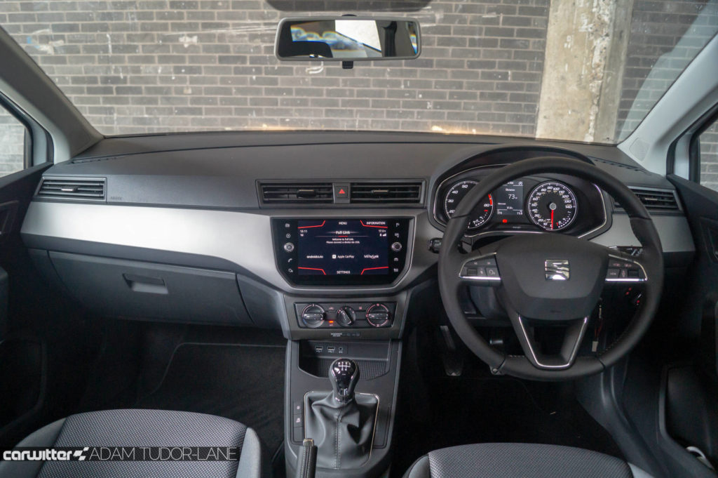 SEAT Ibiza 1.0 SE Tech Review Dashboard carwitter 1024x681 - SEAT Ibiza 1.0 litre SE Technology Review - SEAT Ibiza 1.0 litre SE Technology Review