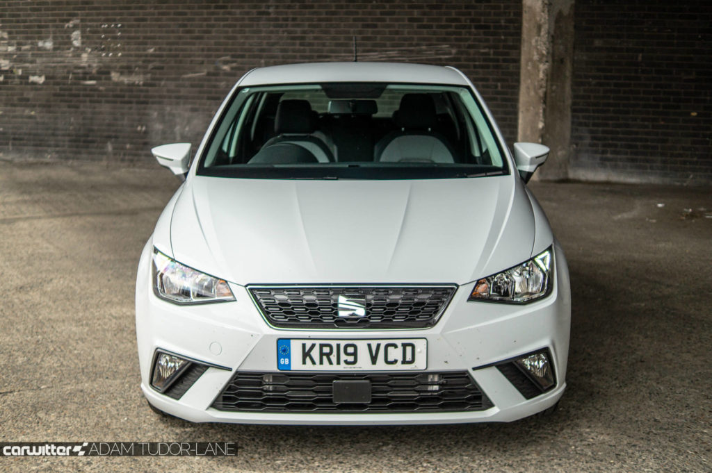 SEAT Ibiza 1.0 SE Tech Review Front carwitter 1024x681 - SEAT Ibiza 1.0 litre SE Technology Review - SEAT Ibiza 1.0 litre SE Technology Review