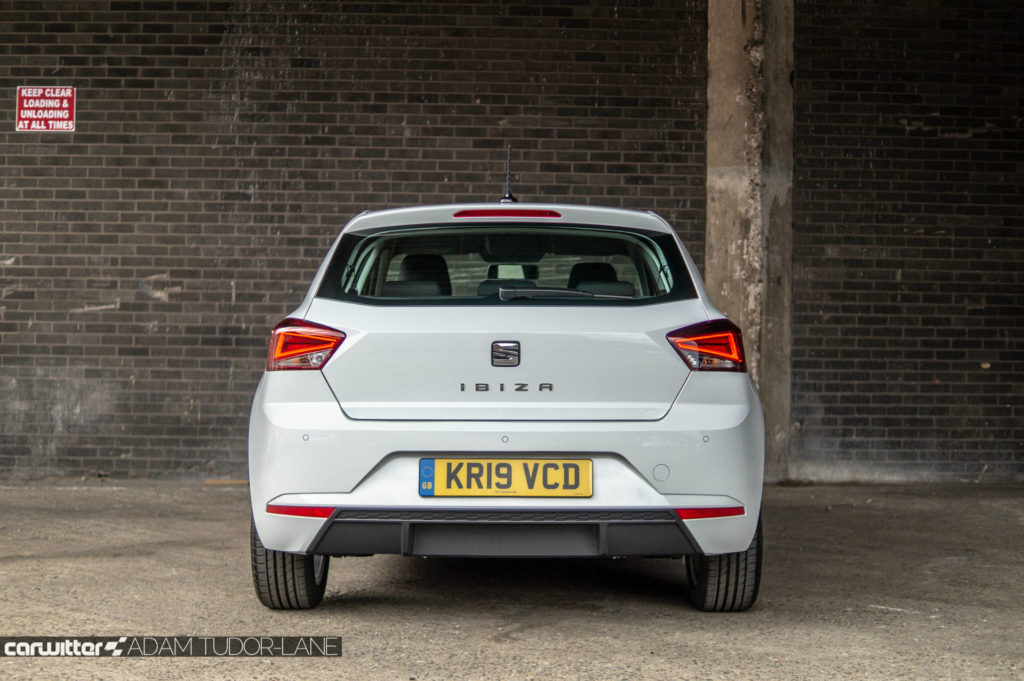 SEAT Ibiza 1.0 SE Tech Review Rear carwitter 1024x681 - SEAT Ibiza 1.0 litre SE Technology Review - SEAT Ibiza 1.0 litre SE Technology Review