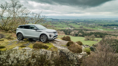 2019 Range Rover Evoque Review Hero Shot Side On carwitter 400x225 - Range Rover Evoque 2019 – Top Tech - Range Rover Evoque 2019 – Top Tech