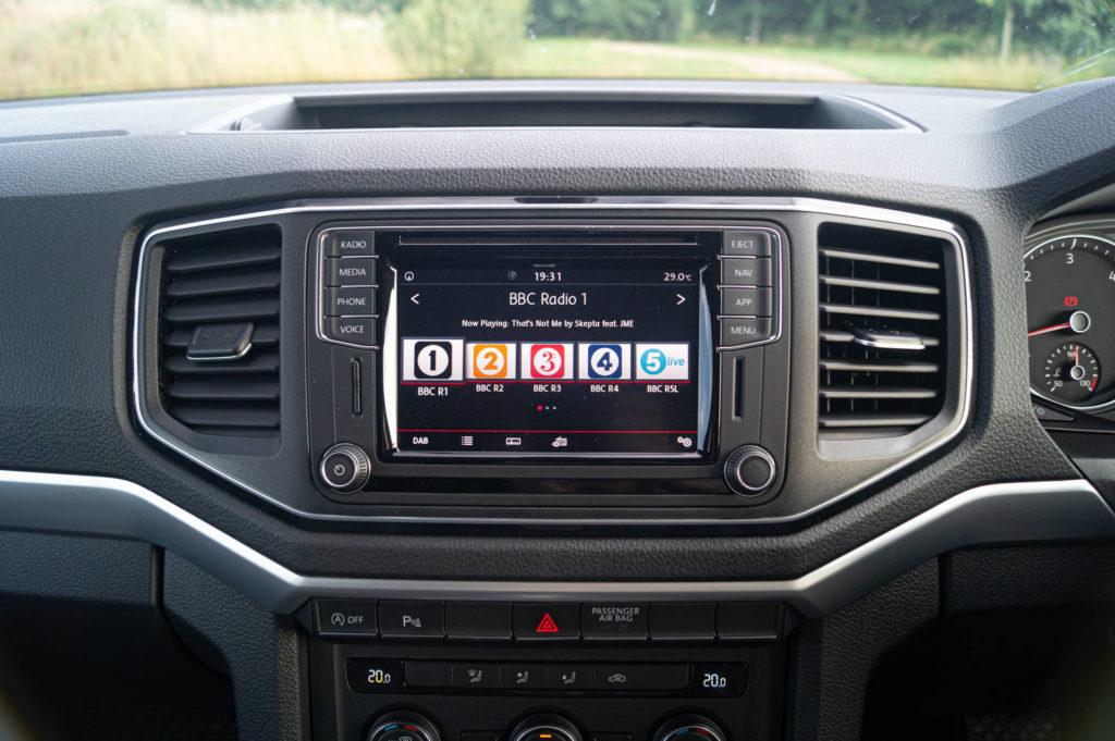 2019 Volkswagen Amarok V6 Review Infotainment carwitter 1024x681 - 2019 Volkswagen Amarok V6 Review - 2019 Volkswagen Amarok V6 Review