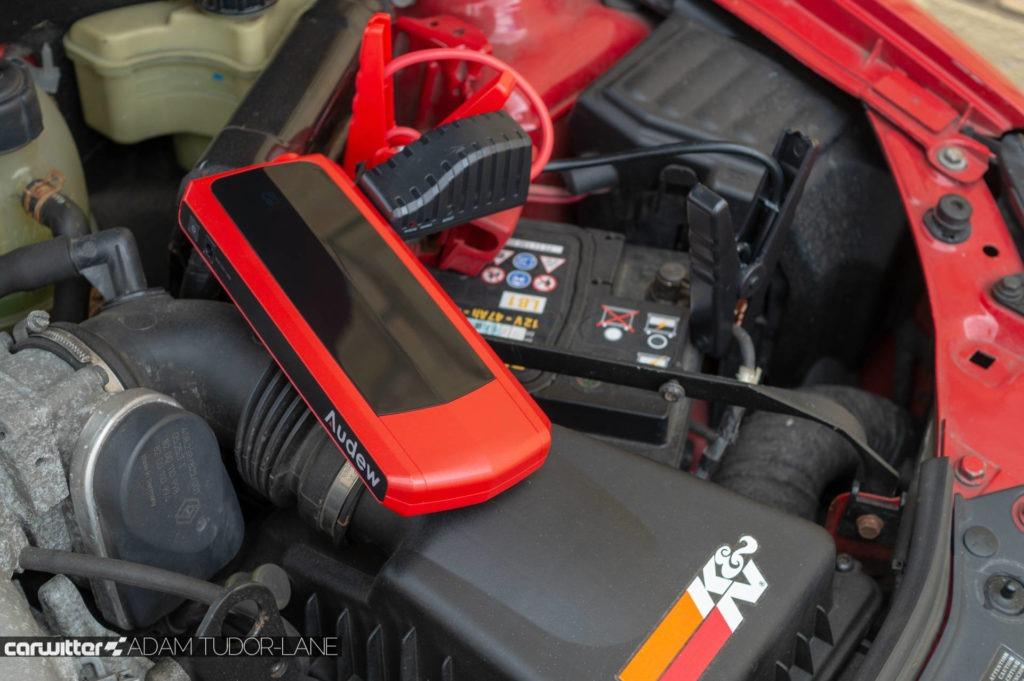 Audew 20000mAh Jump Start Battery Pack Review 008 carwitter 1024x681 - Audew Car Jump Starter Battery Pack 20000 mAh - Audew Car Jump Starter Battery Pack 20000 mAh