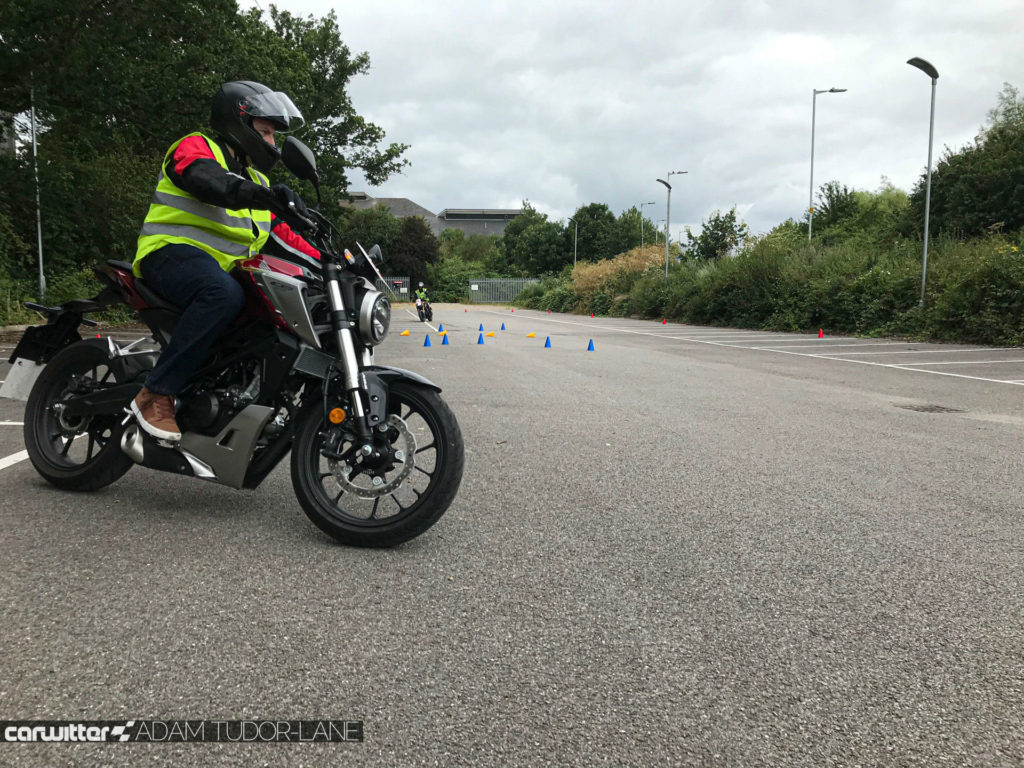 Taking your CBT Honda School Of Motorcycling CB125R carwitter 1024x768 - Taking my CBT with Honda School Of Motorcycling - Taking my CBT with Honda School Of Motorcycling