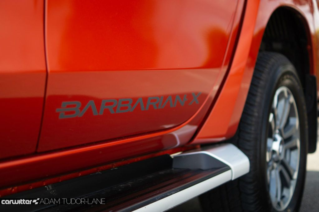 2019 Mitsubishi L200 Series 6 Review Barbarian X Logo carwitter 1024x681 - Mitsubishi L200 Series 6 Review - Mitsubishi L200 Series 6 Review