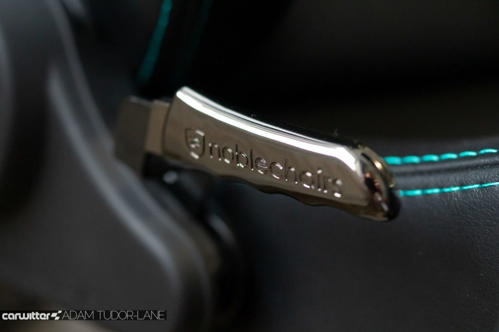Noblechairs Epic Office Gaming Chair MERCEDES AMG PETRONAS F1 EDITION Review 004 carwitter 1024x681 - Noblechairs Mercedes-AMG Petronas F1 Office Chair Review - Noblechairs Mercedes-AMG Petronas F1 Office Chair Review