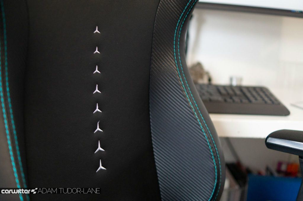 Noblechairs Epic Office Gaming Chair MERCEDES AMG PETRONAS F1 EDITION Review 012 carwitter 1024x681 - Noblechairs Mercedes-AMG Petronas F1 Office Chair Review - Noblechairs Mercedes-AMG Petronas F1 Office Chair Review