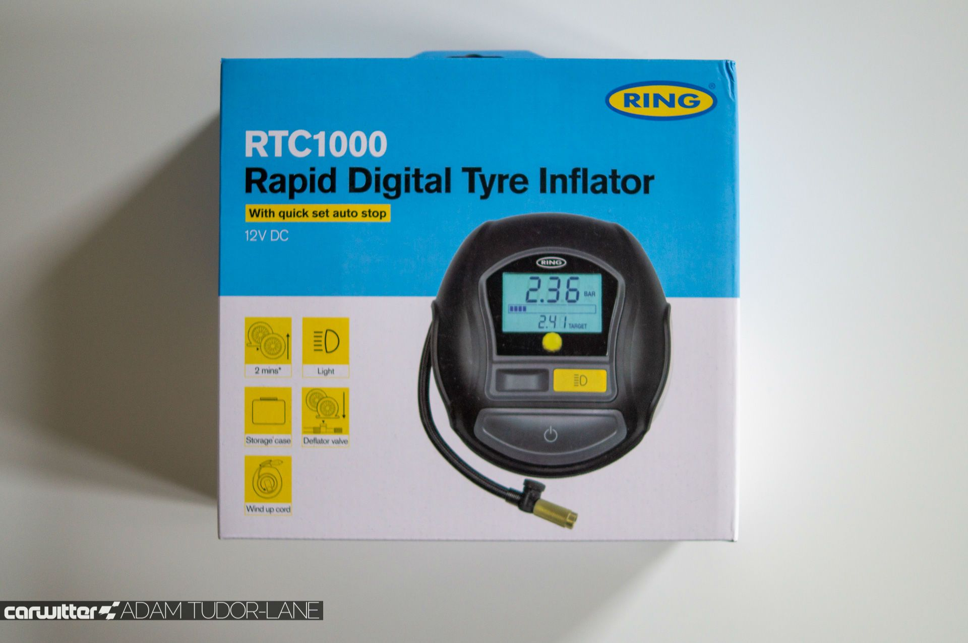 Win a Ring RTC1000 Rapid Digital Tyre