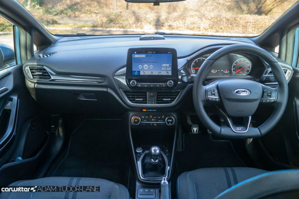 2019 Ford Fiesta ST2 Review Dashboard carwitter 1024x681 - Ford Fiesta ST Performance Pack Review (2019) - Ford Fiesta ST Performance Pack Review (2019)