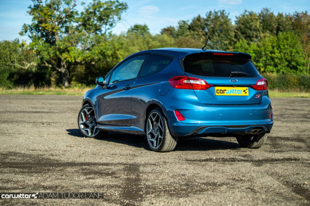 2019 Ford Fiesta ST2 Review Rear Angle Far carwitter 1024x681 - Ford Fiesta ST Performance Pack Review (2019) - Ford Fiesta ST Performance Pack Review (2019)