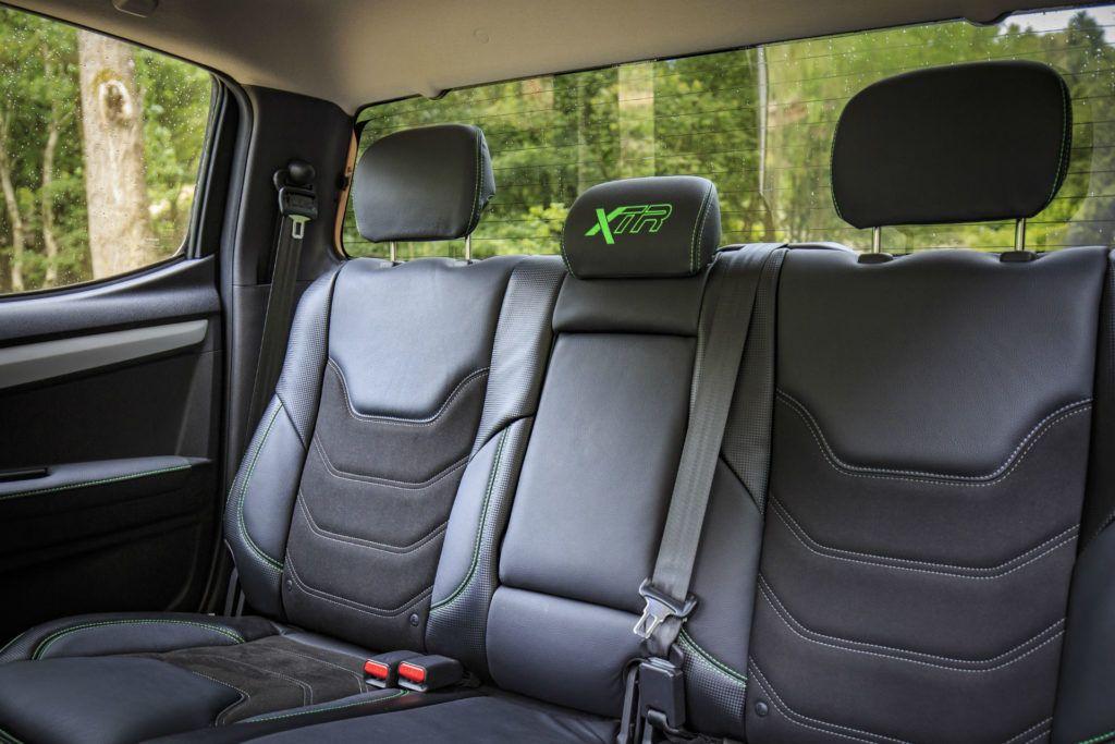 Isuzu D Max XTR Review Rear Seat Detail carwitter 1024x683 - Isuzu D-Max XTR Review - Isuzu D-Max XTR Review