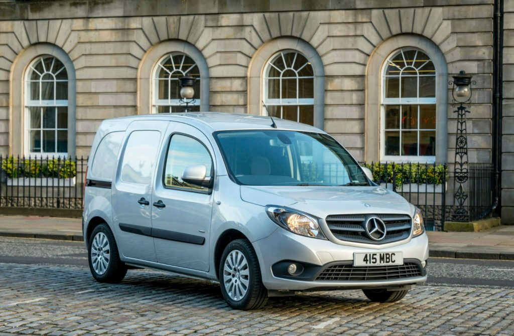 Mercedes Benz Citan Front carwitter 1024x670 - The Small Van Plan - The Small Van Plan