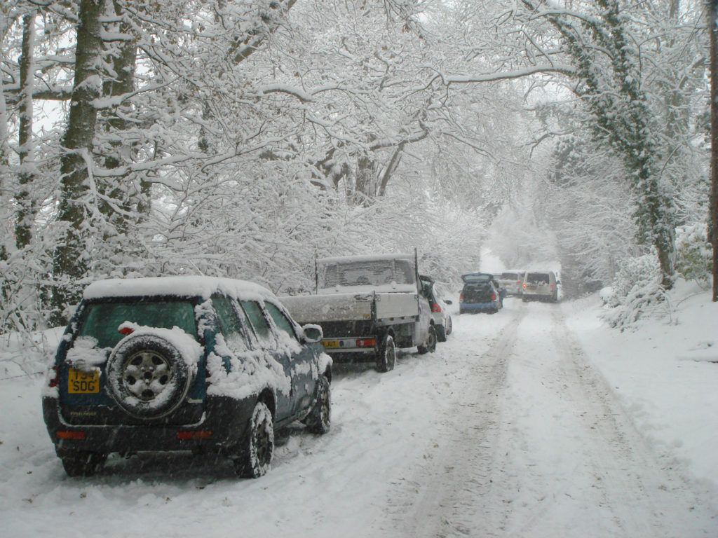 Winter Weather Snow Tyres carwitter 1024x768 - Don't forget to stop and check your tyres occasionally - Don't forget to stop and check your tyres occasionally