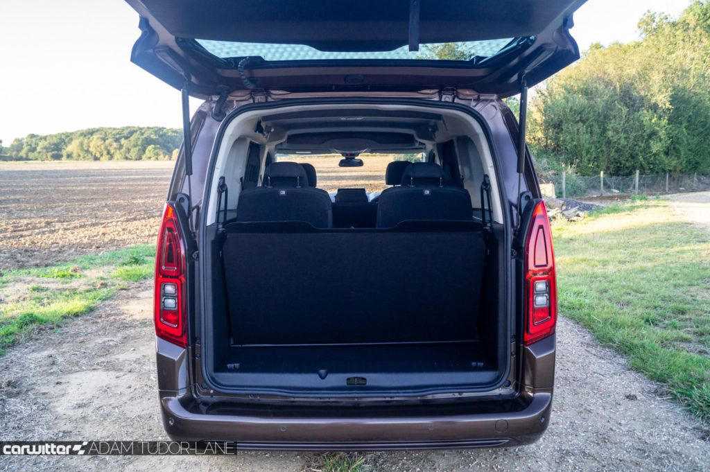 2019 Vauxhall Combo Life Review Boot Space 3 carwitter 1024x681 - Vauxhall Combo Life 7 Seater Review - Vauxhall Combo Life 7 Seater Review