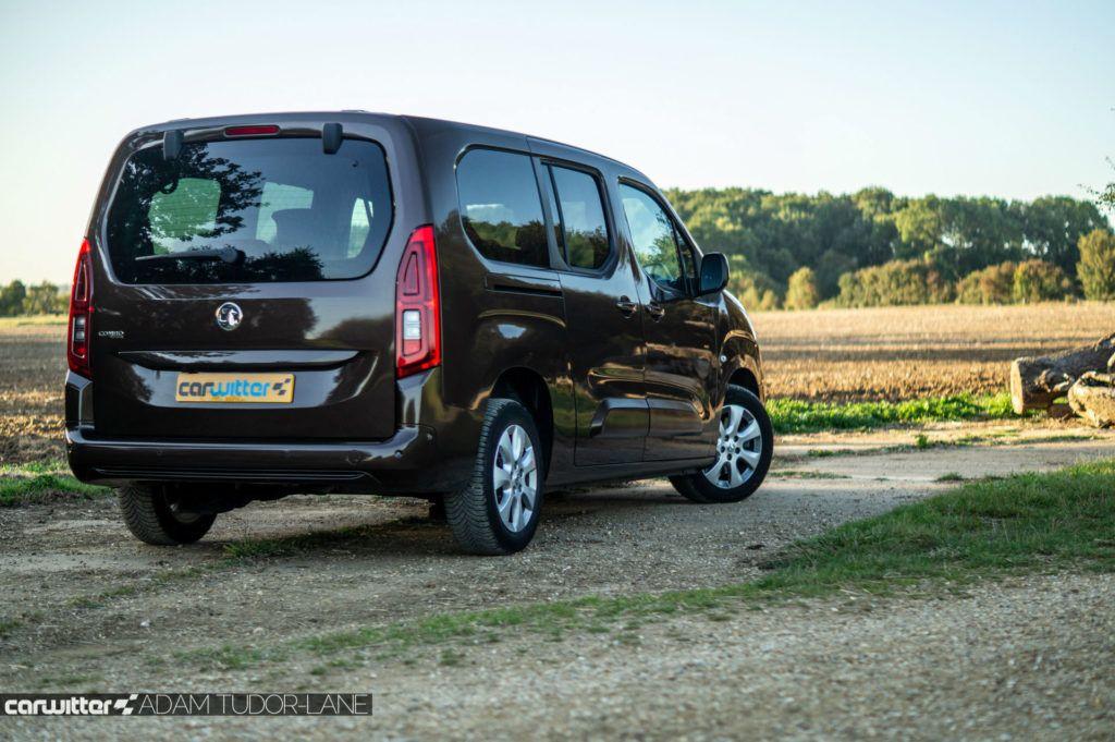 2019 Vauxhall Combo Life Review Rear Angle Scene carwitter 1024x681 - Vauxhall Combo Life 7 Seater Review - Vauxhall Combo Life 7 Seater Review
