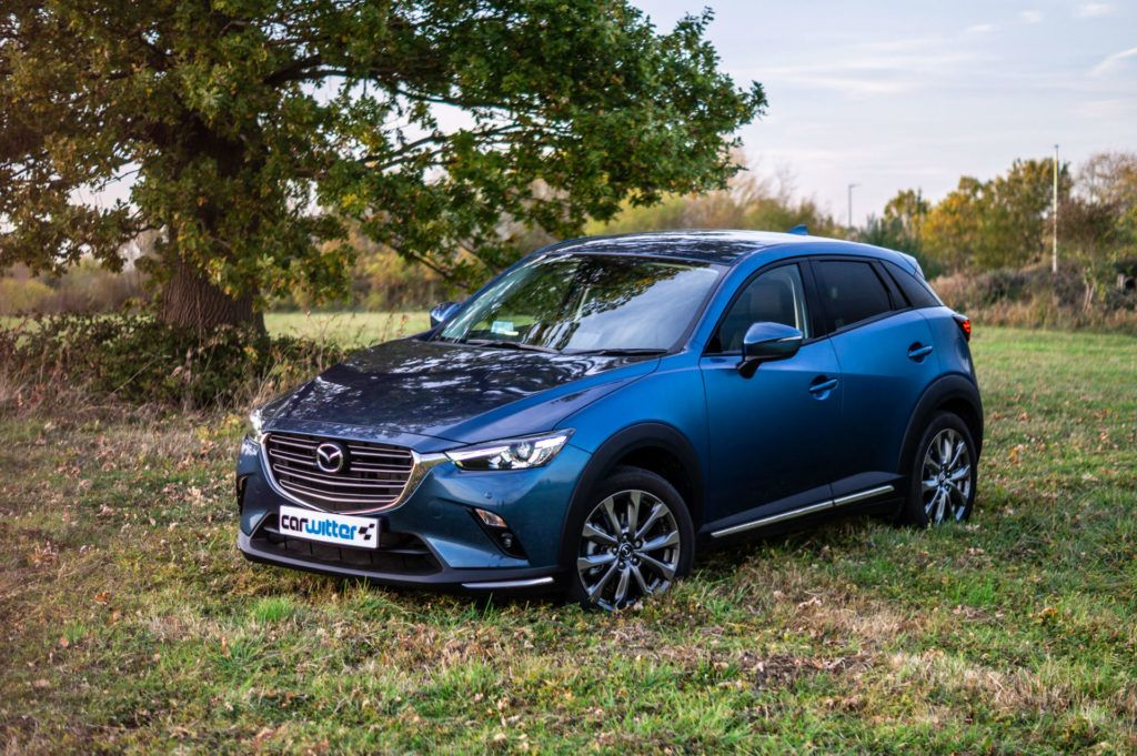 2018 Mazda CX 3 AWD Review Review Front Angle carwitter 1024x681 - How Did SUVs Get So Popular? - How Did SUVs Get So Popular?