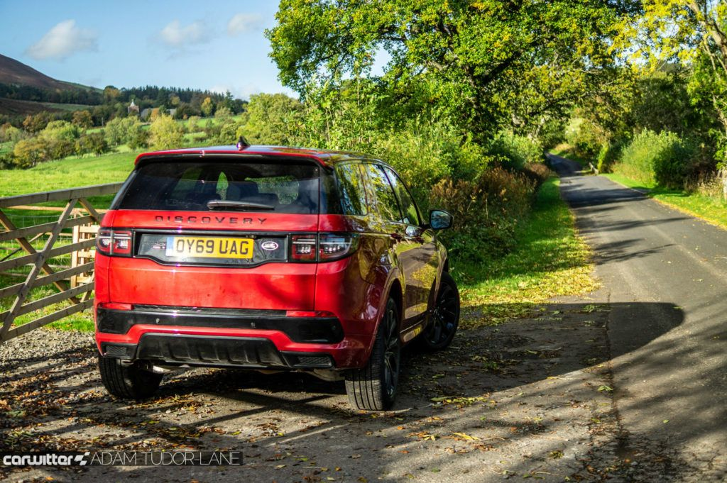 2019 Land Rover Discovery Sport Review Rear Angle Road carwitter 1024x681 - Land Rover Discovery Sport Review - Land Rover Discovery Sport Review