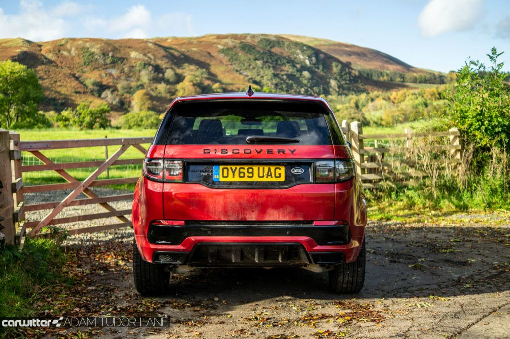2019 Land Rover Discovery Sport Review Rear carwitter 1024x681 - Land Rover Discovery Sport Review - Land Rover Discovery Sport Review