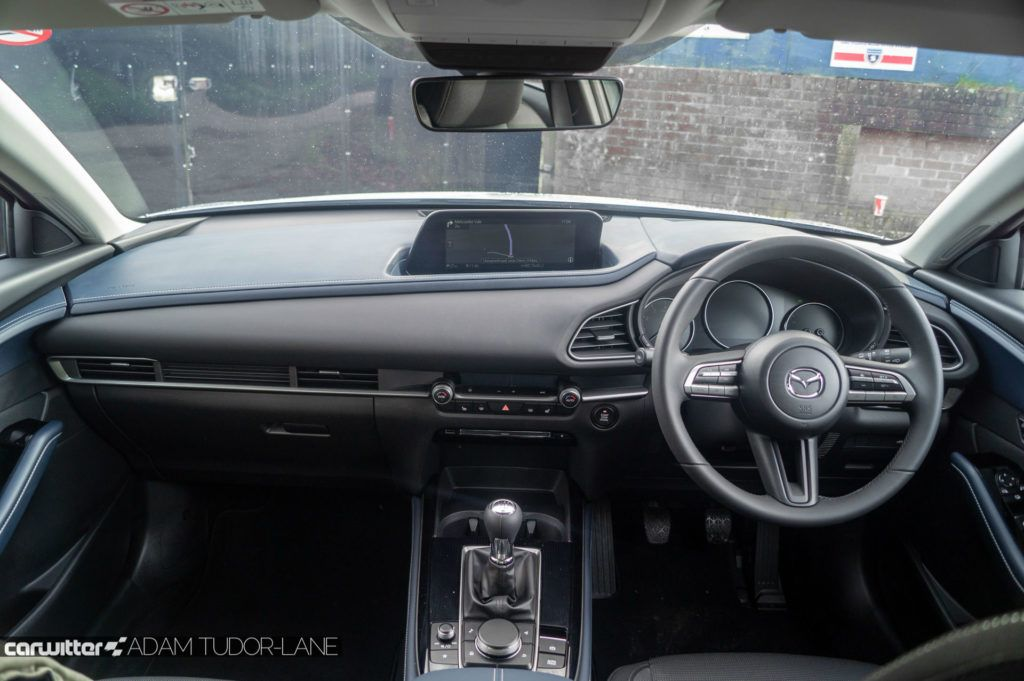 2019 Mazda CX 30 Review Review Dashboard Interior carwitter 1024x681 - Mazda CX-30 Review - Mazda CX-30 Review