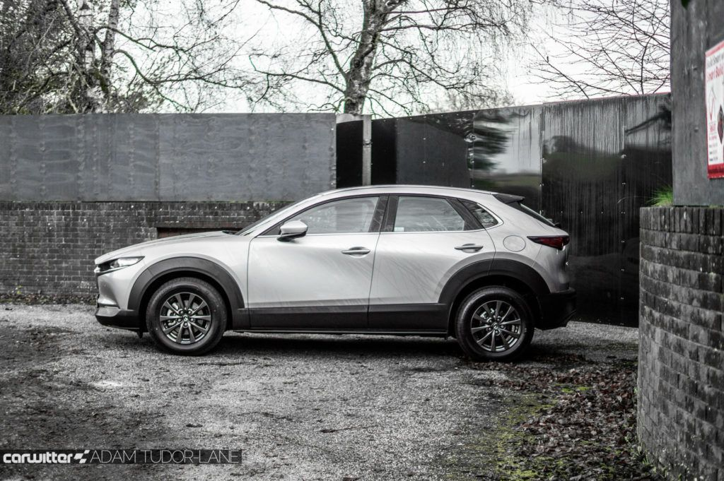 2019 Mazda CX 30 Review Review Side carwitter 1024x681 - Mazda CX-30 Review - Mazda CX-30 Review