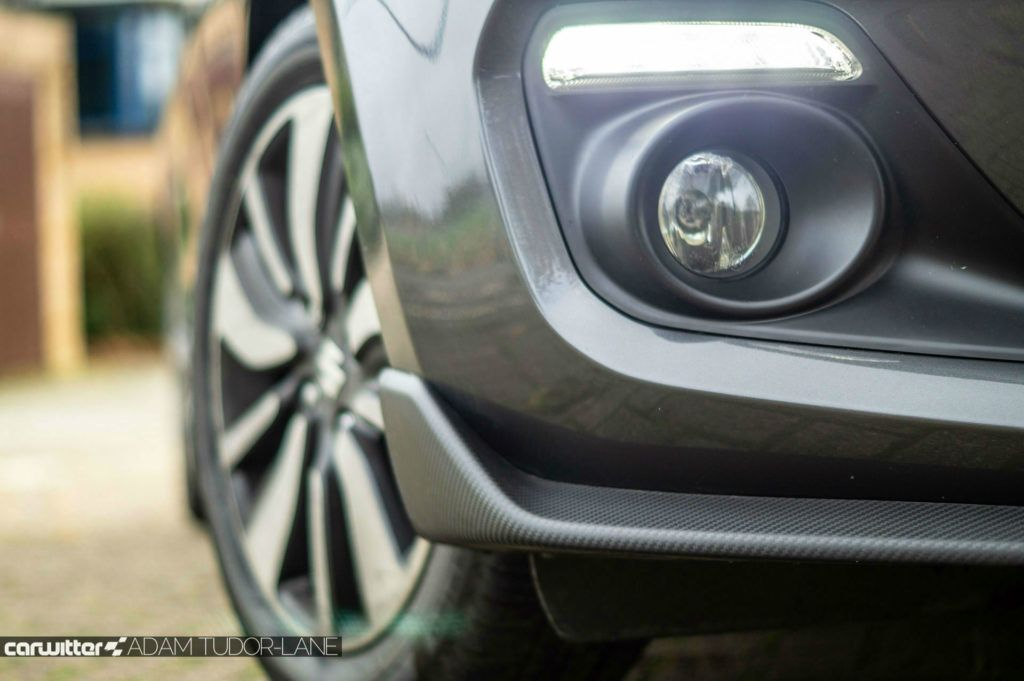 2019 Suzuki Swift Attitude Review Carbon Effect Front Skirt carwitter 1024x681 - Suzuki Swift Attitude Review (2019) - Suzuki Swift Attitude Review (2019)