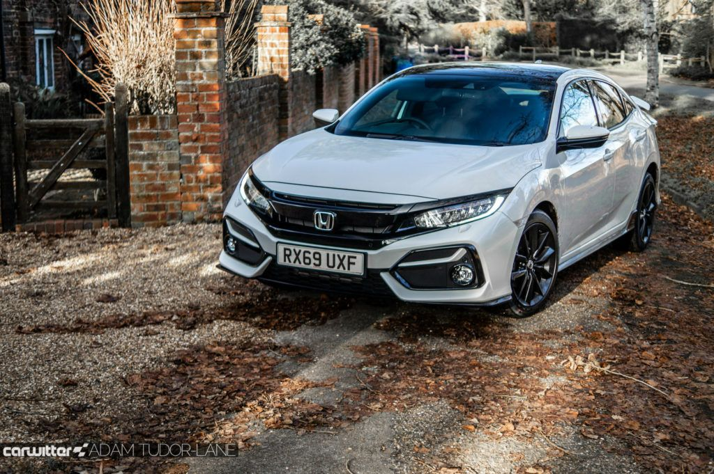 2020 Honda Civic Sport Line Review Front Angle carwitter 1024x681 - Honda Civic Sport Line Review - Honda Civic Sport Line Review