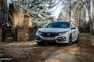 2020 Honda Civic Sport Line Review Front Scene carwitter 400x266 - Honda Civic Sport Line Review - Honda Civic Sport Line Review