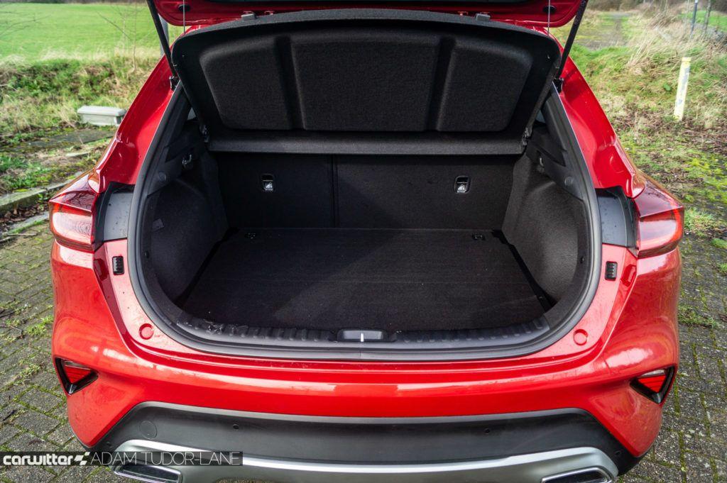 2020 Kia XCeed 2 1.6 Diesel Review Boot carwitter 1024x681 - Kia XCeed Review - Kia XCeed Review