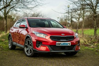 2020 Kia XCeed 2 1.6 Diesel Review Front Angle Close carwitter 400x266 - Kia XCeed Review - Kia XCeed Review