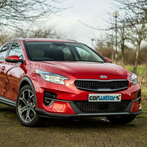 2020 Kia XCeed 2 1.6 Diesel Review Front Angle Close carwitter 500x500 - Kia XCeed Review - Kia XCeed Review