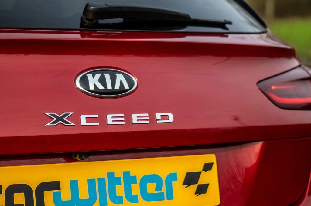 2020 Kia XCeed 2 1.6 Diesel Review Rear Badge carwitter 1024x681 - Kia XCeed Review - Kia XCeed Review