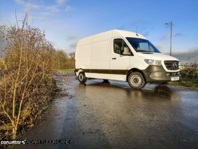 2020 Mercedes Sprinter 314 CDI Review 001 carwitter 400x300 - Mercedes Sprinter 314 FWD Review - Mercedes Sprinter 314 FWD Review