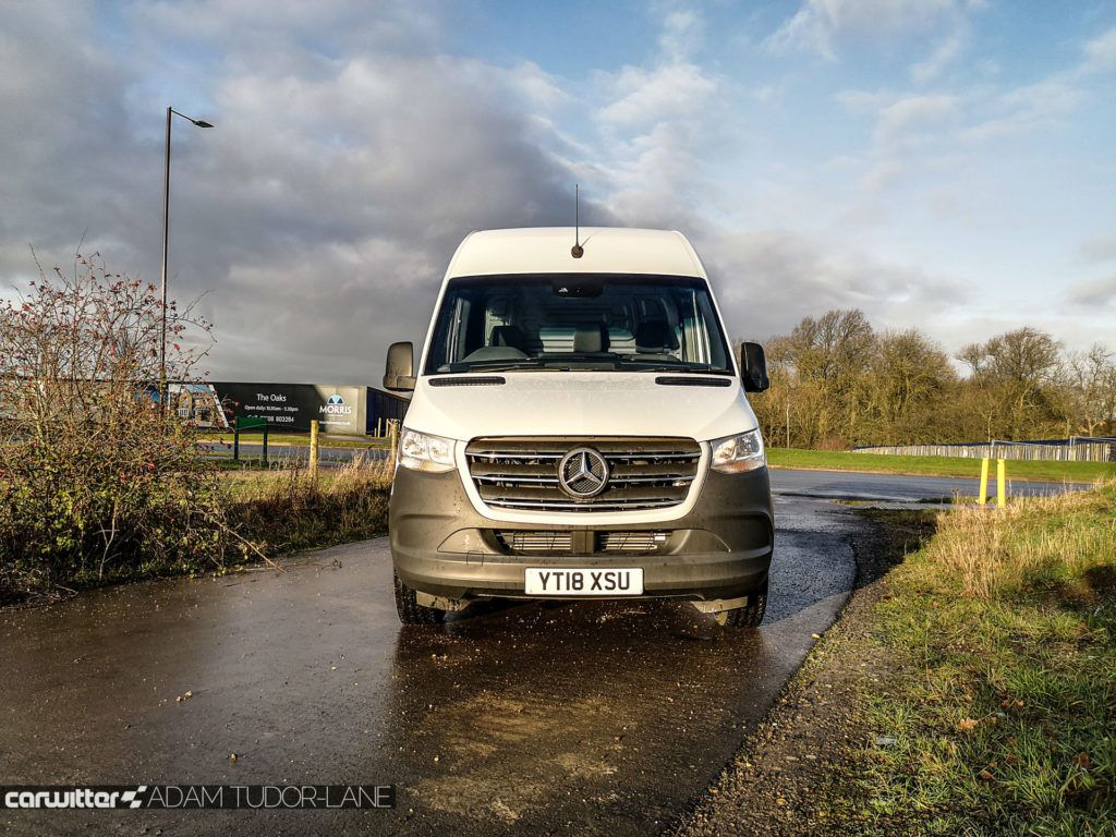 2020 Mercedes Sprinter 314 CDI Review 003 carwitter 1024x768 - Mercedes Sprinter 314 FWD Review - Mercedes Sprinter 314 FWD Review