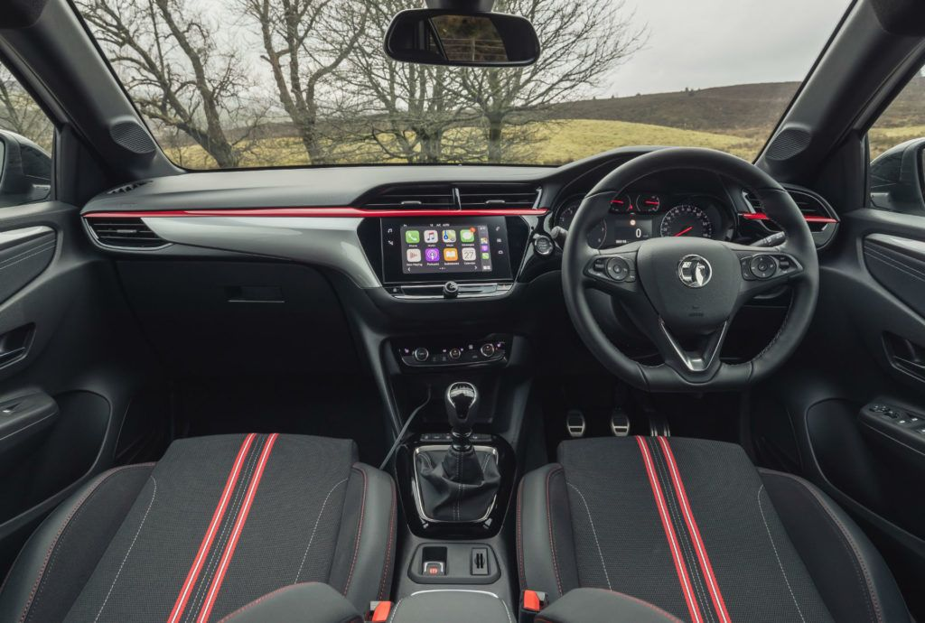 2020 Vauxhall Corsa SRi Review Dashboard carwitter 1024x690 - Vauxhall Corsa SRi Review - Vauxhall Corsa SRi Review