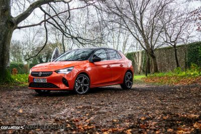 2020 Vauxhall Corsa SRi Review Front Angle carwitter 400x266 - Vauxhall Corsa SRi Review - Vauxhall Corsa SRi Review