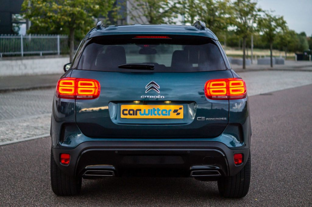 Citroen C5 Aircross Review Rear carwitter 1024x681 - Citroen C5 Aircross Review - Citroen C5 Aircross Review
