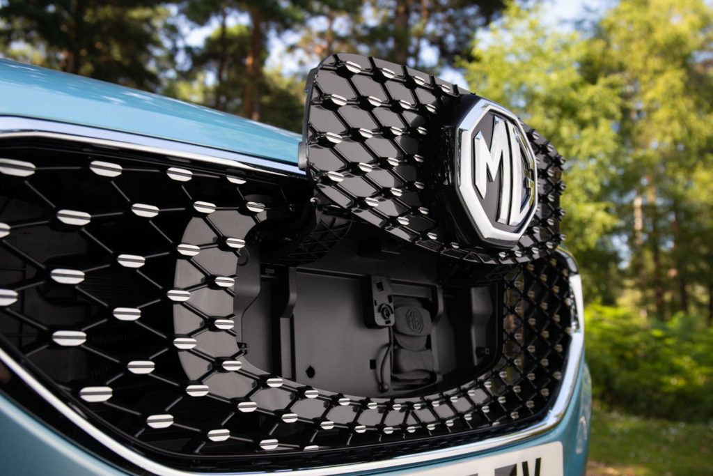 MG ZS EV Socket Grille carwitter 1024x683 - The affordable EV is here – MG ZS - The affordable EV is here – MG ZS