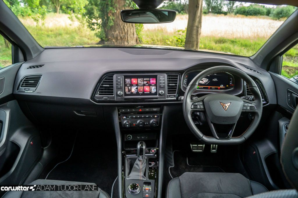 2019 CUPRA Ateca Review Dashboard carwitter 1024x681 - Cupra Ateca Review - Cupra Ateca Review