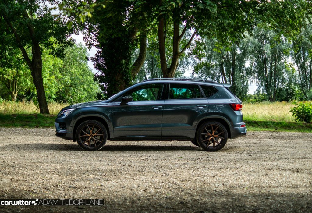 2019 CUPRA Ateca Review Side On carwitter 1024x699 - Cupra Ateca Review - Cupra Ateca Review