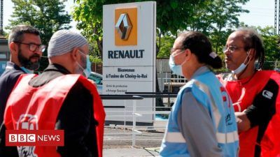 112549843 gettyimages 1216040704 1 H1JWUj 400x225 - Renault cuts 15,000 jobs in major restructuring - Renault cuts 15,000 jobs in major restructuring
