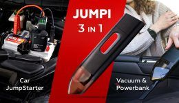 Jumpi Image 1 260x150 - Jumpi is The Cordless Car Vacuum That Could Save Your Life (And Your Car) - Jumpi is The Cordless Car Vacuum That Could Save Your Life (And Your Car)