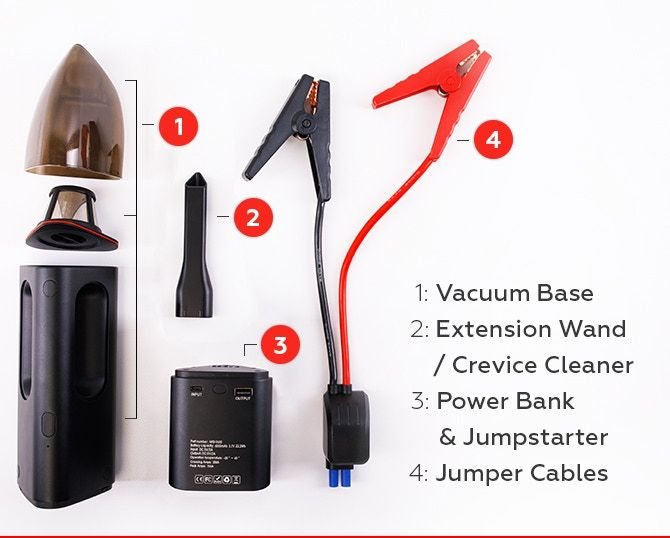 Jumpi Image 4 - Jumpi is The Cordless Car Vacuum That Could Save Your Life (And Your Car) - Jumpi Image 4