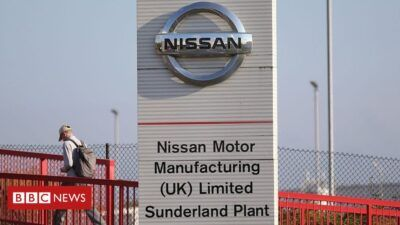112839720 gettyimages 618559108 1 jolvfL 400x225 - Nissan will not extend contracts for 250 workers - Nissan will not extend contracts for 250 workers