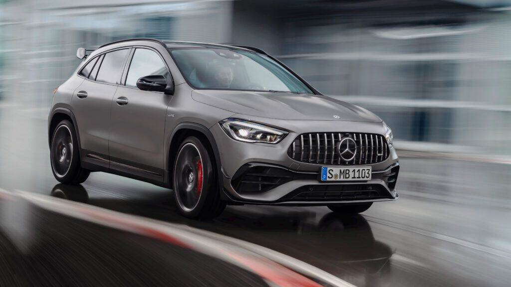 2020 Mercedes AMG GLA45 3 lC2RFk 1024x576 - New 2020 Mercedes-AMG GLA45 S to cost up to £65,000 in the UK | Evo - New 2020 Mercedes-AMG GLA45 S to cost up to £65,000 in the UK | Evo
